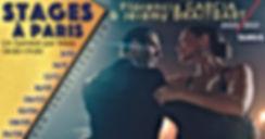 Stages de Tango à Paris tous les mois avec Florencia Garcia et Jeremy Braitbart