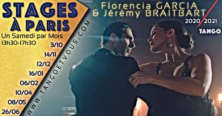Stages 2020-2021avec Florencia Garcia et Jérémy Braitbart