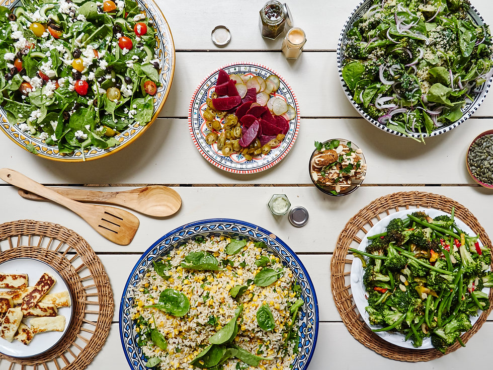 walter-and-monty-spread-salads-meats-greens.jpg