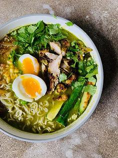 Green Ramen Cookalong Recipe - Quarantine Cuisine by WM