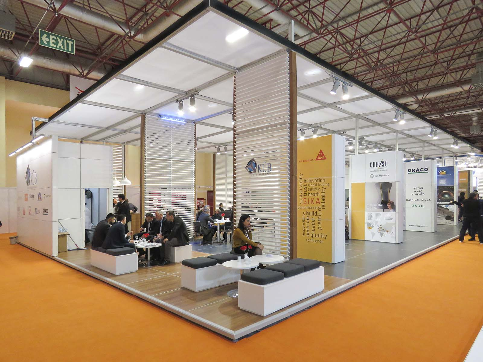 fuar stand design genix exhibition b