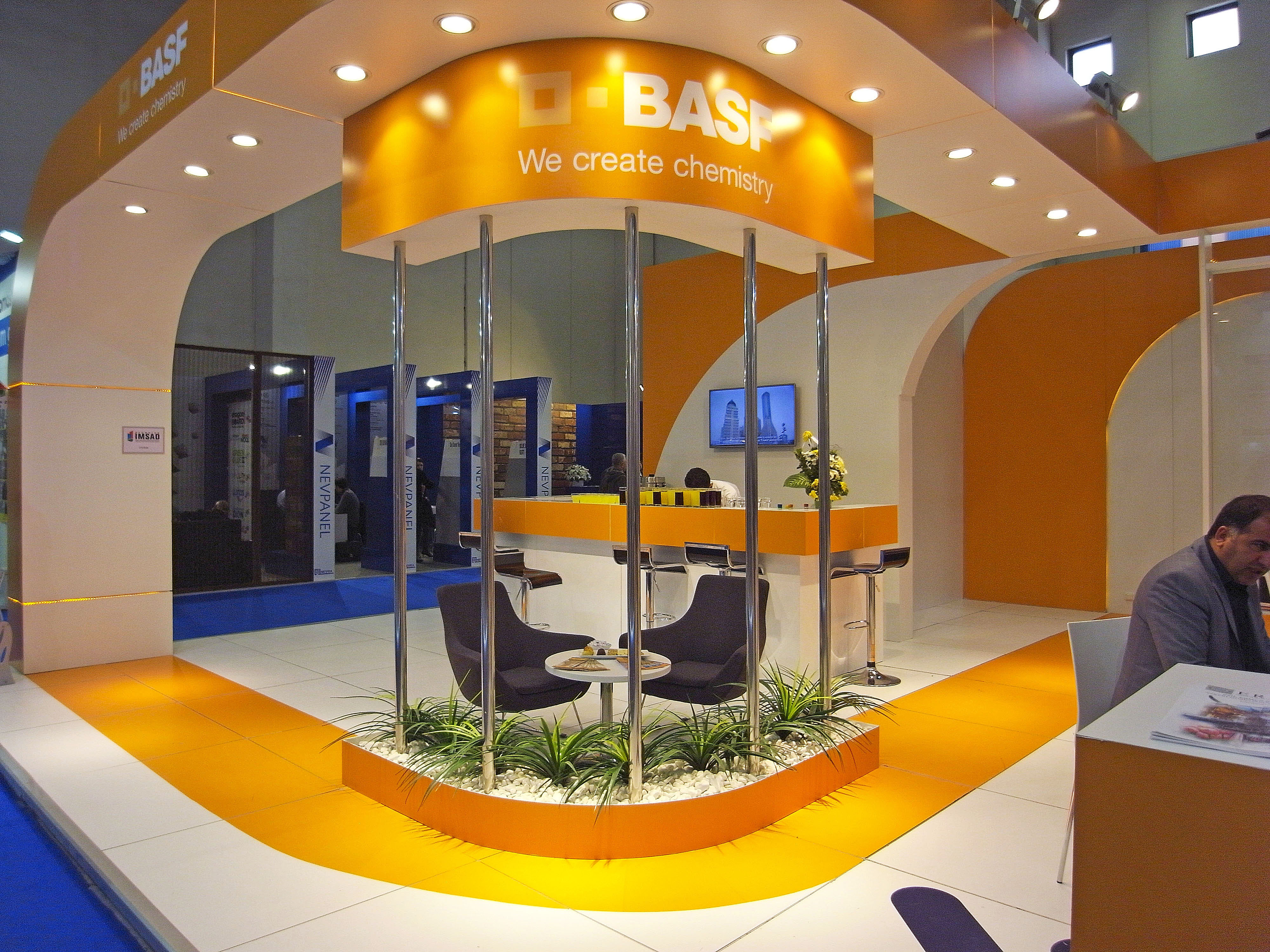 exhibition booths turkey istanbul ge