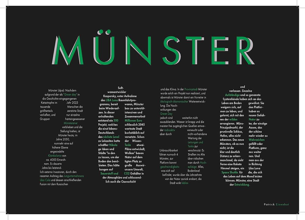 Münster 2050 Deckblatt (Portfolio)