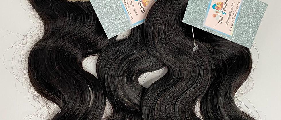 Exotic S Indian Body Wave Hair | Closure Bundle Deal | 3 Bundle & Closure