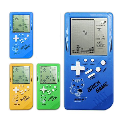 Colourful Tetris Handheld Game