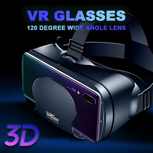 Android VR Headset with headphones option