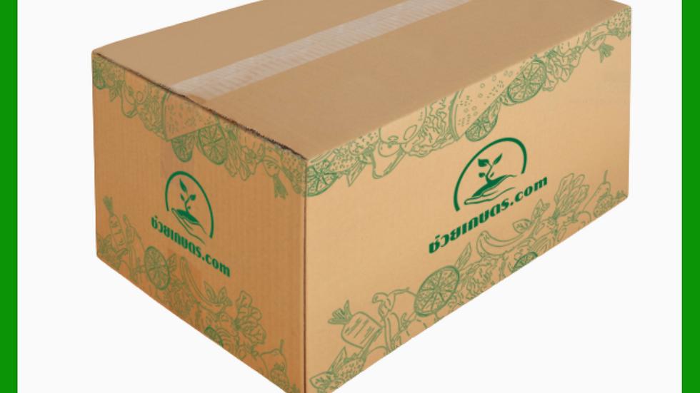 G กล่องผลิตภัณฑ์แปรรูป 35 x 45 x 25 ซม. ยกแพค 25 กล่อง