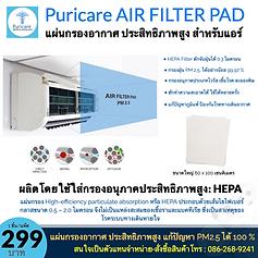 Puricare HEPA AIR FILTER PAD.png