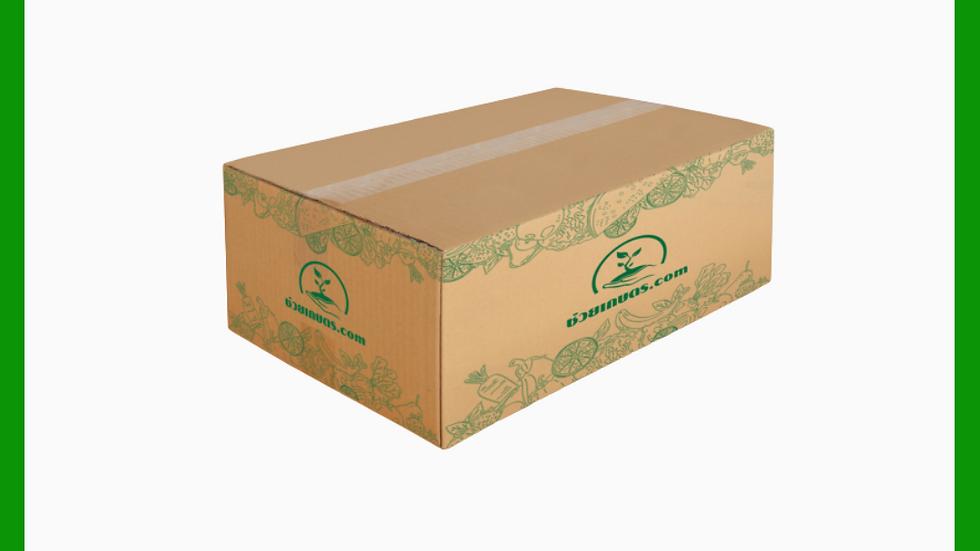 C กล่องผลิตภัณฑ์แปรรูป 20 x 30 x 11 ซม. ยกแพค 25 กล่อง