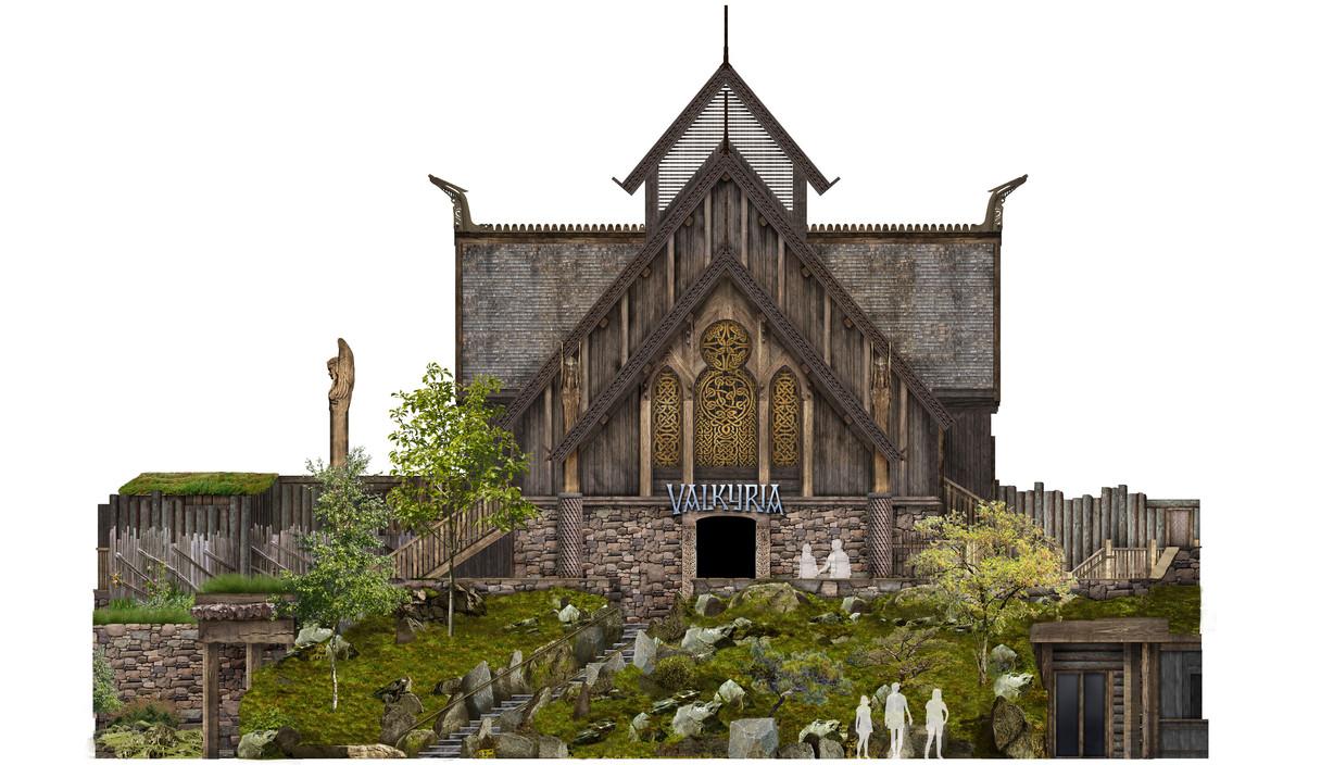 Valkyria Facade Concept Image