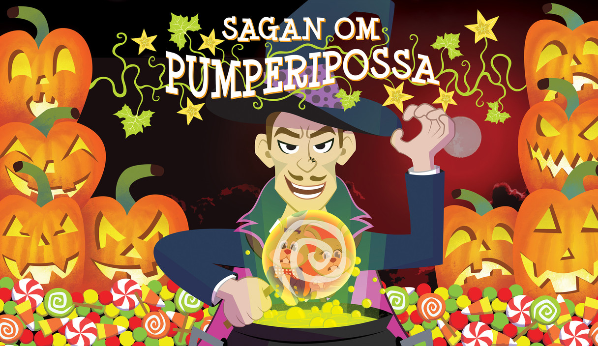 Sagan Om Pumperipossa Kavarnteatern Poster Halloween 2018