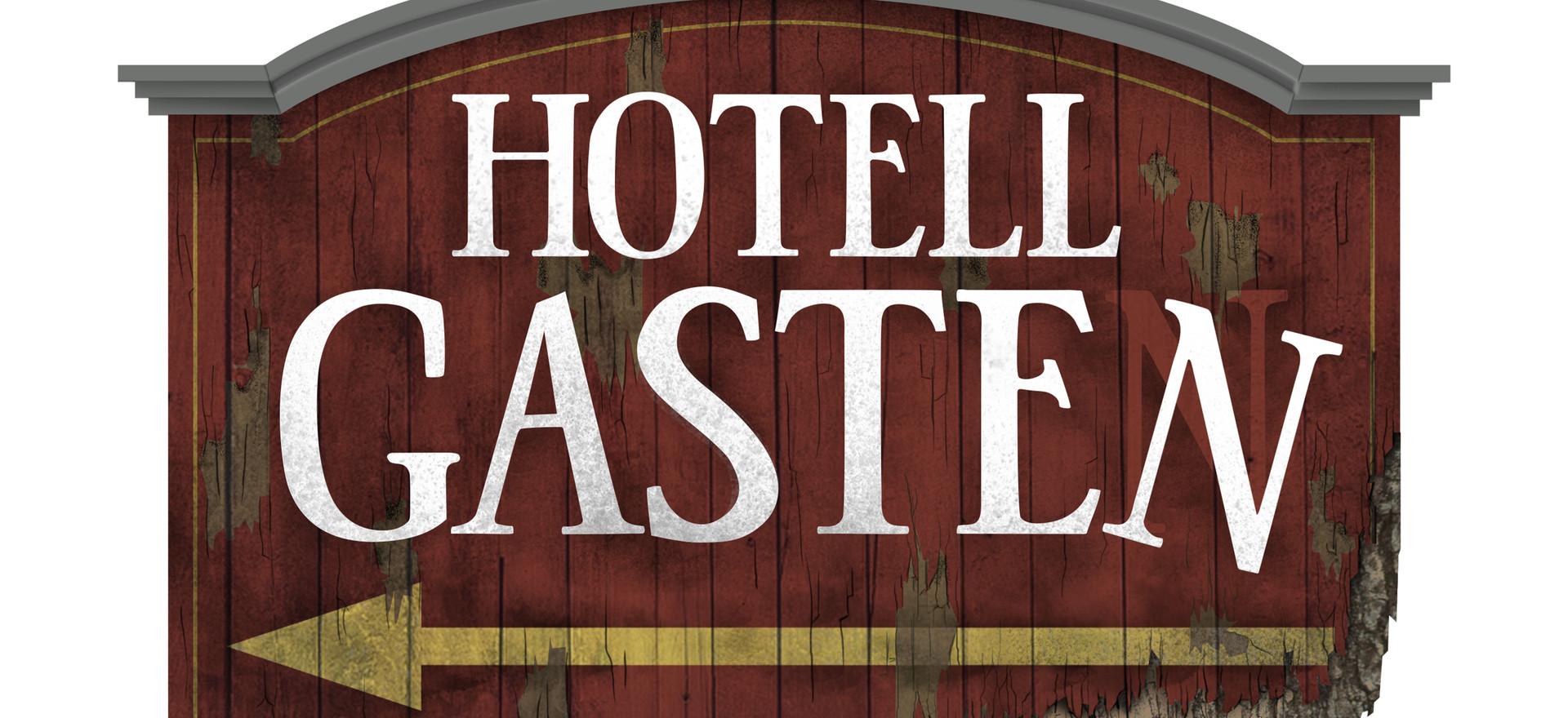 Hotel Gasten Sign