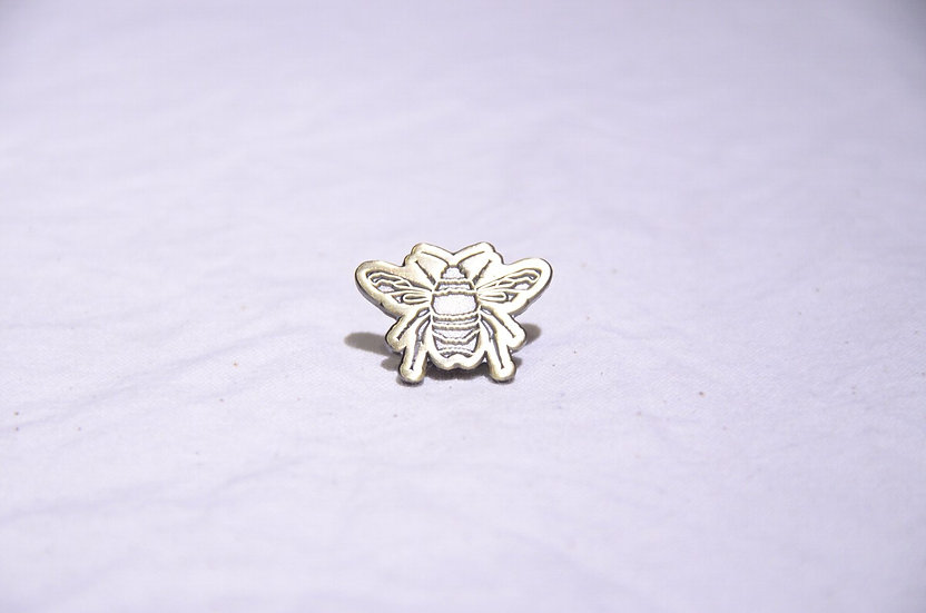 BEE Outerwear BEE Pin Brass Made in London ビーアウターウェア 真鍮 蜂 ビーピンバッチ