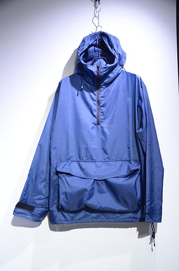Ark Air StowAWay Pullover Shirts Jacket BLUE Made in England アークエア パッカブルパーカ