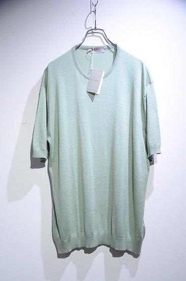John Smedley Sea Island Cotton STONWELL Tee Made in UK ジョンスメドレー シーアイランドコットンTシャツ