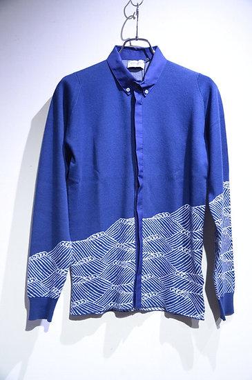 John Smedley Sea Island Cotton Banbridge Knit B.D.shirts ジョンスメドレー ボタンダウンシャツ