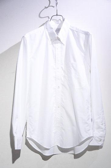 HAAR SCOTLAND Button Down White Shirt Made in Scotland ハースコットランド ボタンダウン B.D. シャツ