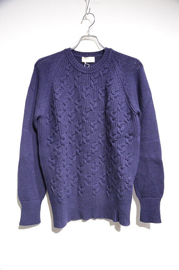 Jhon Smedley Imperial Kashmir Cable knit Made in UK ジョンスメドレー カシミア ケーブルニット