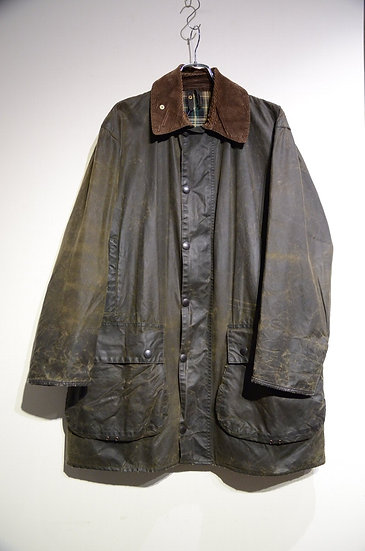 90s Barbour 3Crest Border 42 Made in England バブアー ボーダー ジャケット