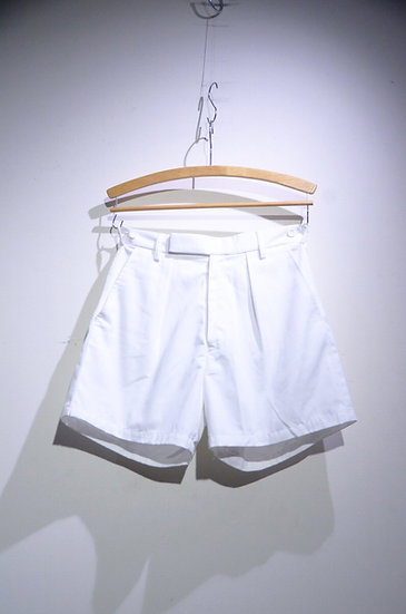 USED 90 - 00s British Army PTI Tri Service White Shorts イギリス軍 ホワイト ショーツ