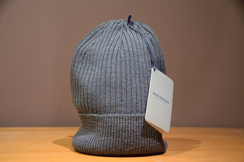 John Smedley FAHRENHEIT In Knit CAP Made in the UK ジョンスメドレー ニットキャップ ビーニー