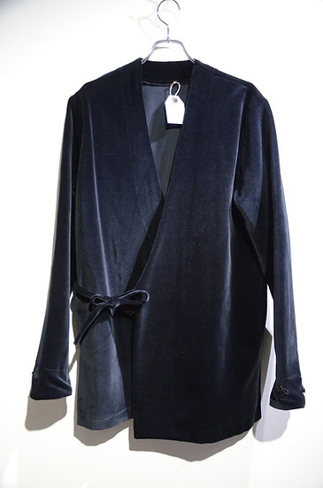 Sartori A brothers story Velvet Kimo Shirt Handmade in Italy サルトーリ キモノシャツ ベロア