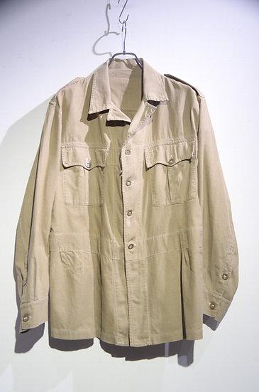 Vintage 1955s British Army1950 Pattern Bush Safari Jacket イギリス軍 1950P ブッシュジャケット