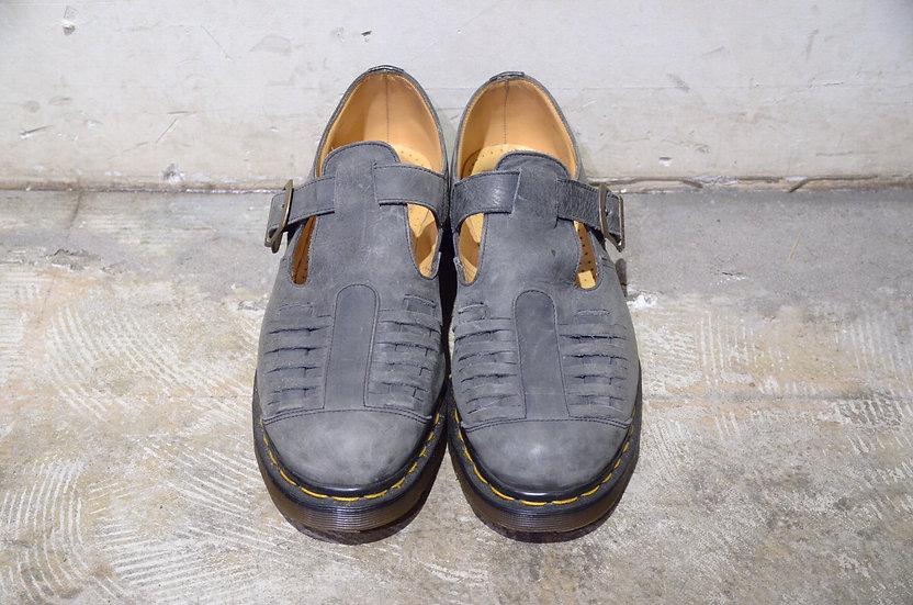 "USED DR MARTENS Buckle Strap Sandal ""MICA"" Made in England ドクターマーチン サンダルシューズ ミカ"