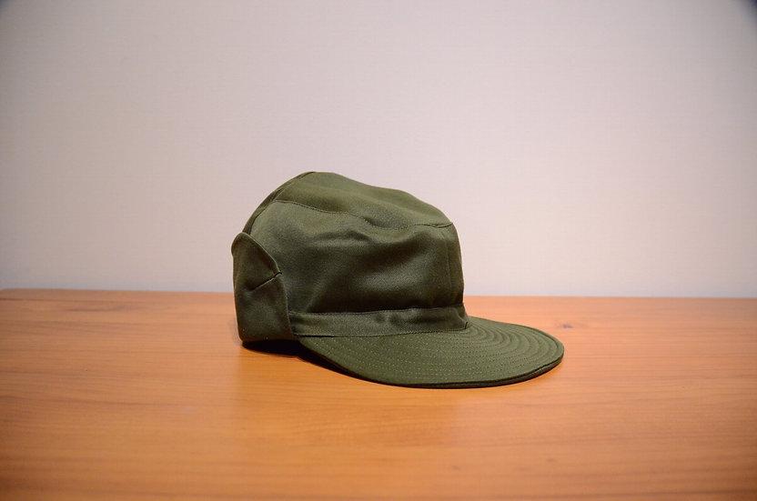 60s Vintage Swedish Army Cotton Cap ヴィンテージ スウェーデン軍 アーミーキャップ