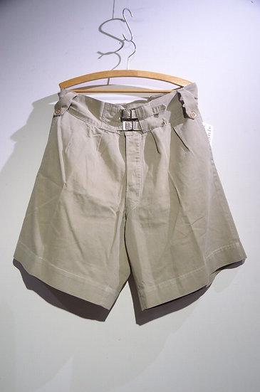 Vintage 1940s British Army Khaki Drill Shorts E Local made イギリス軍 カーキドリル ショーツ