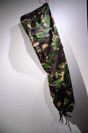 DPM イギリス軍 カモ柄 ミリタリー 迷彩 パンツ トラウザー デットストック