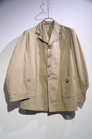 Vintage 1944's Khaki Drill Back Belt Bush / Safari Jacket イギリス軍 ツイル ブッシュジャケット