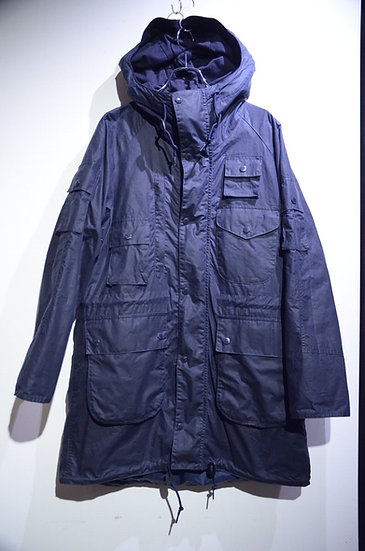 BARBOUR X ENGINEERED GARMENTS Zip Parka Jacket Made in England バブアー エンジニアードガーメンツ