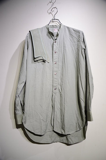 50s Vtg Van Heusen VANTELLA Cotton poplin Shirts Made in England ヴァン ヒューゼン シャツ