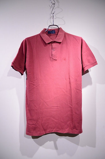 80s-90s Fred Perry Polo shirts RED Made in England  フレッドペリー 鹿の子 ポロシャツ
