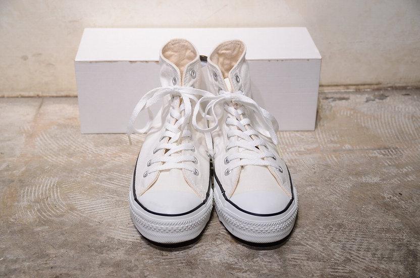 Converse x ANACONDA SPORTS White Canvas Sneaker Hi Made in USA コンバース アナコンダスポーツ