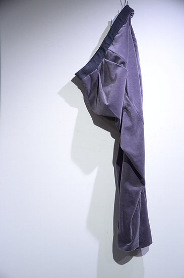 HAiK w/  Pleated Velour Easy Pants Made in lithuania ハイクウィズアス プリーツベロアパンツ