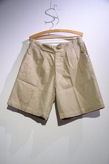 Vintage 1940s British Army Khaki Drill Shorts F Local made イギリス軍 カーキドリル ショーツ