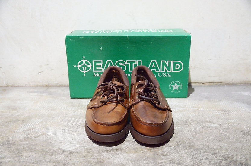Vtg 90's EASTLAND Sturbridge Leather Shoes Made In USA イーストランド モカシンシューズ