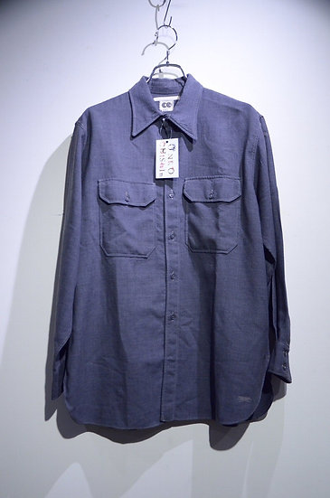 40 - 50s Vintage CC41 Wool Work Shirts Gray Made in England ヴィンテージ ワークウールシャツ