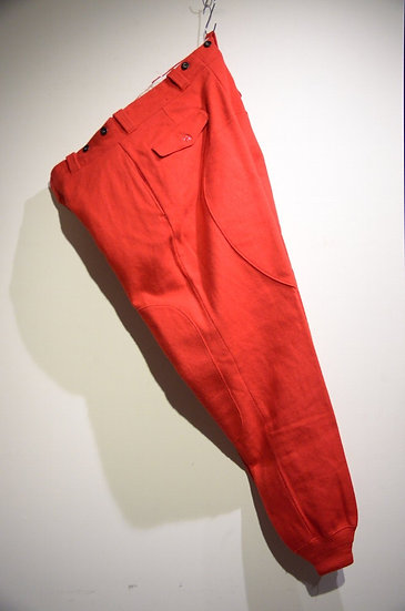 USED Vtg Woolrich Malone Wool Trousers RED Made in USA ウールリッチ ウールリッチ マローンパンツ