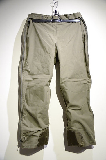 German Military Boa Fleece Liner Full Zip Over Pants ドイツ軍 フリースボア オーバーパンツ