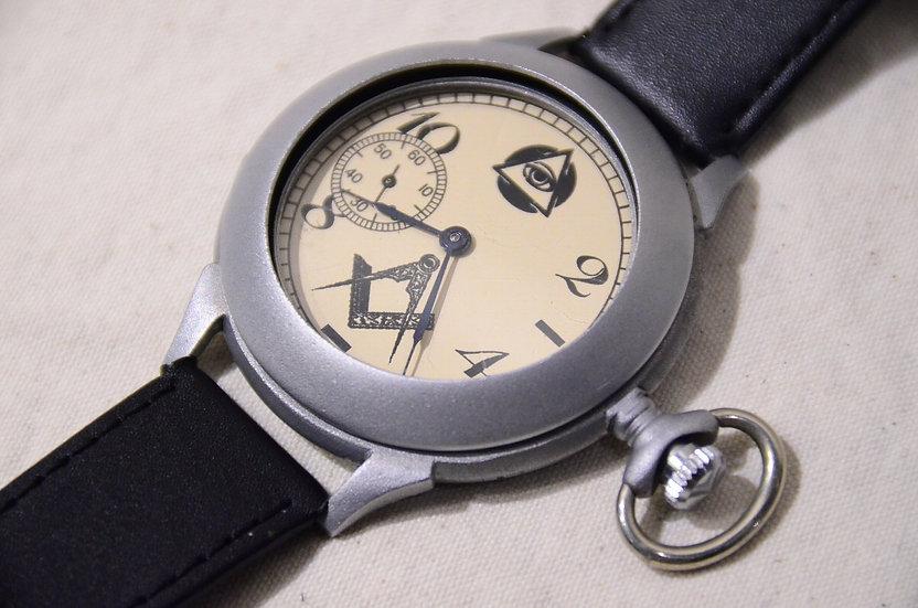 ヴィンテージ フリーメイソン 時計 ウォッチ 秘密結社 アイテム アクセサリー