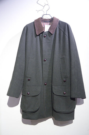 90s Barbour Loden Cloth Wool Coat Jacket Made in England バブアー ローデン ジャケット
