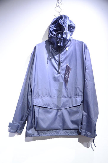 Ark Air StowAWay Pullover Shirts Jacket GRAY Made in England アークエア パッカブルパーカ