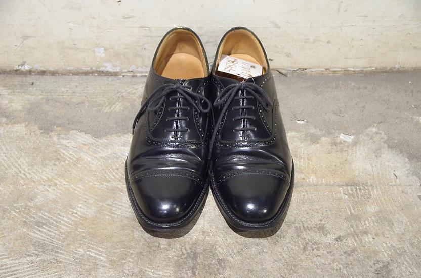 Used Reprint Church's Black Dress Shoes Made in England チャーチ 復刻版73ラスト ドレスシューズ