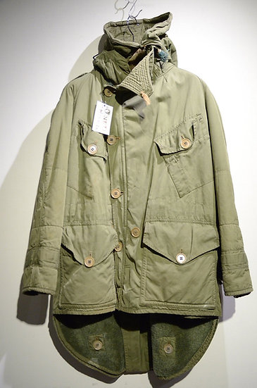 52s Vintage British Army FishTail Middle Parka Made in UK イギリス軍 ミドルパーカ