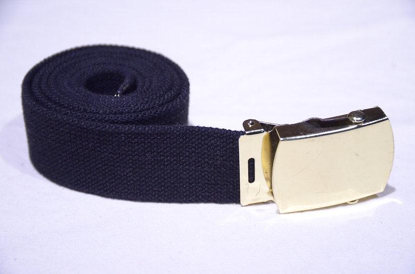 British Royal Air Force RAF Roll Buckle Webbing Belt Made in UK イギリス空軍 ウェビングベルト