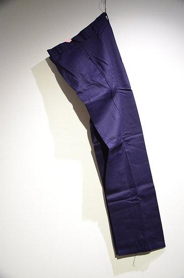 DEADSTOCK Vtg 80-90s British Work Reflector Slim Pants B Made in UK スリム ワークパンツ