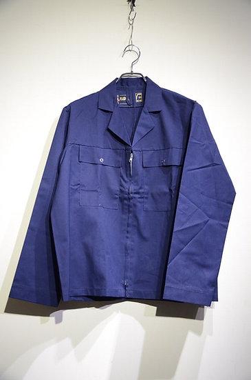 DEADSTOCK 60-70s PEAKOVALL NAVY Drivers Jacket Made in UK イギリス製 ワーク ドライバーズジャケット